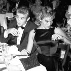 James Dean & Ursula Andress, 1955