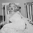 Marilyn Monroe In Deck Chair