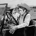 James Dean & Elizabeth Taylor, Giant 1955