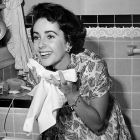 Elizabeth Taylor Washing Face