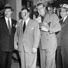 Dapper Bud Abbott, Lou Costello & George Jessel