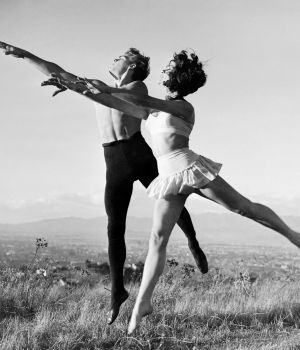 Elizabeth Taylor & James Dean Ballet by
