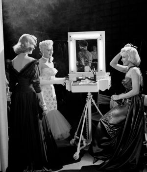 Marilyn Monroe, Lauren Bacall, & Betty Grable 1953 by