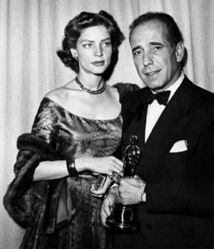 Lauren Bacall & Humphrey Bogart by