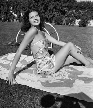 Young Rita Hayworth, Circa 1939 by