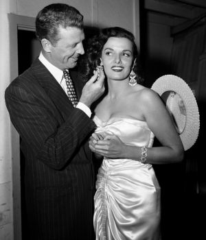 Dan Daily & Jane Russell 1953 by