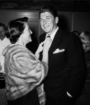 Nancy & Ronald Reagan 1959 by
