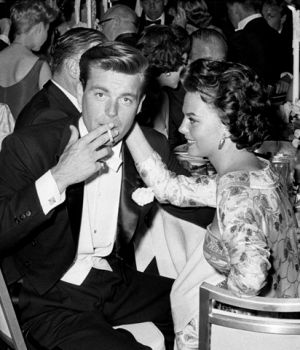 Robert Wagner & Natalie Wood  by