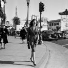 Rita Hayworth, Taking A Stroll In Hollywood 1939