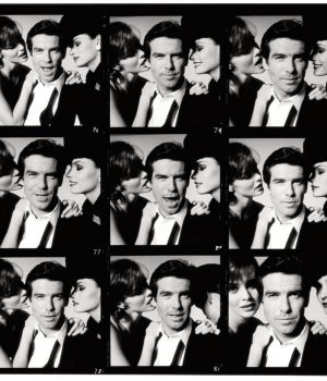 Pierce Brosnan, The Last Roll, Contact Sheet , 1995 by