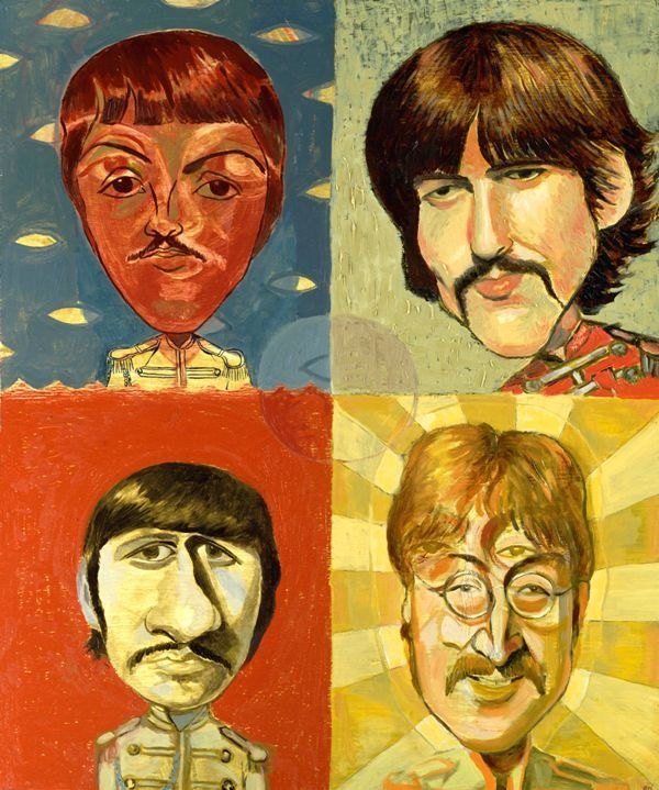 The Beatles by Dan Springer