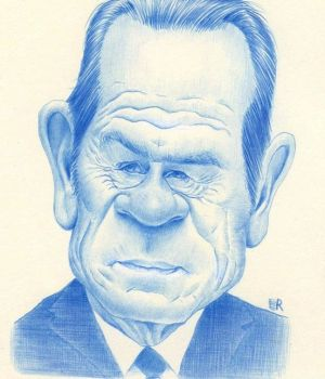 Tommy Lee Jones  by