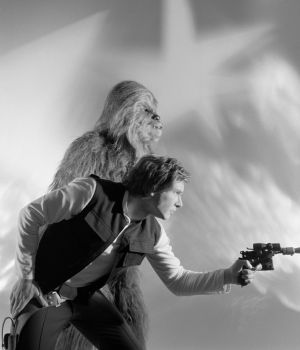Chewbacca & Han Solo - Return of the Jedi by