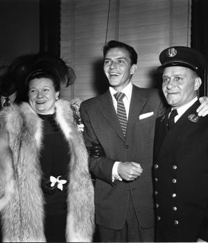 Frank Sinatra with His Parents by