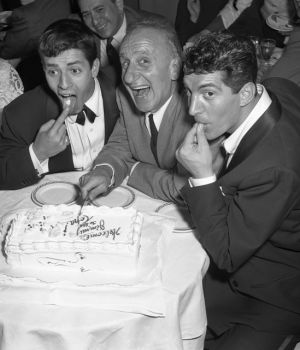Jerry & Dean with Jimmy Durante by