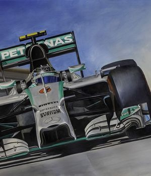 Nico Rosberg, Mercedes, 2015 by