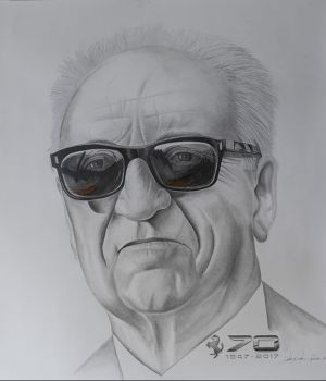 Enzo Ferrari by