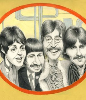 The Beatles_50th Anniversary Yellow Submarine by