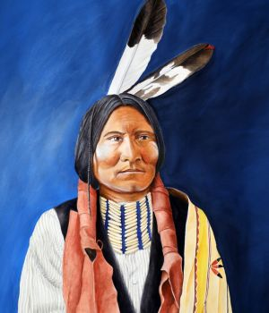 Dirt face, Sioux by