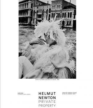 white feathers cruising in Venice 1966 by