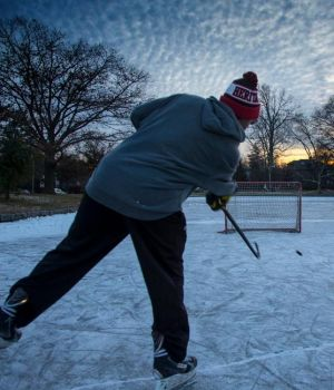 Pond Hockey by