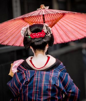 Geisha Going to Work (A) by