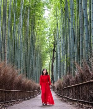 Woman in Red by