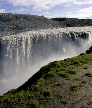 Dettifoss Falls, Iceland by