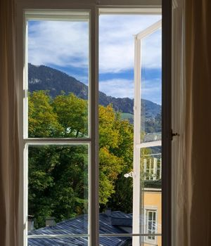 Window View, Salzburg by