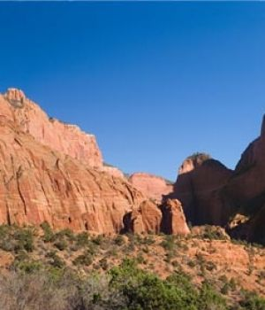 Zion National Park Panorama, Utah by