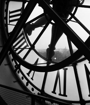 Orsay Clock, Paris by