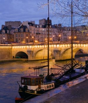 Along the Seine, Paris by