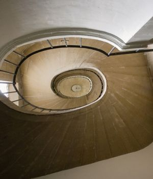 Spiral Staircase, St. Sulpice, Paris by