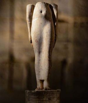 Egyptian Artifact Female Form by