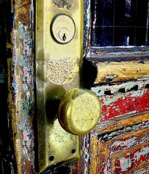 Rustic Door by