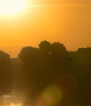 Sunset on the Nile, Egypt by