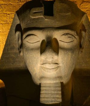 Luxor Face, Egypt by