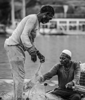 Aswan Fishermen, Egypt by