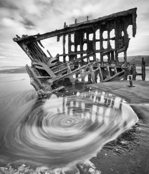The Vortex of Peter Iredale by