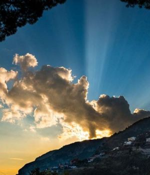 Divine Sunset, Italy by