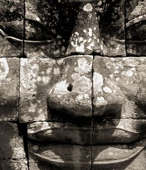 Enigmatic Face, Cambodia by