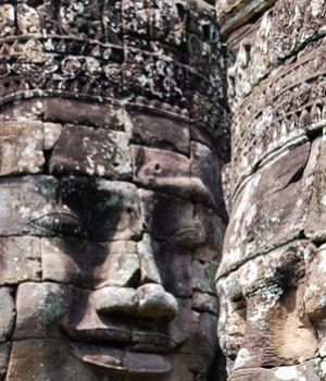 Serene Bayon Faces, Cambodia by