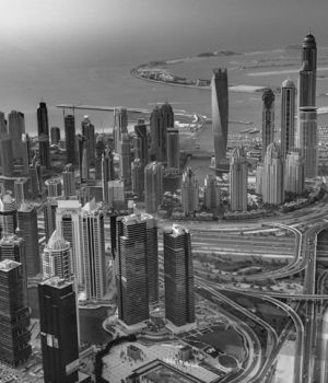 Dubai City Scape by