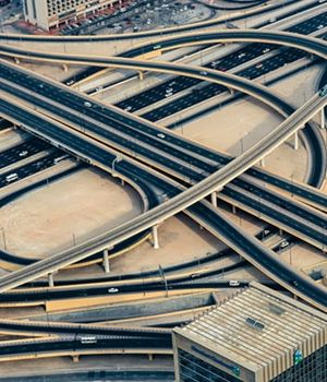 Dubai Intersection by