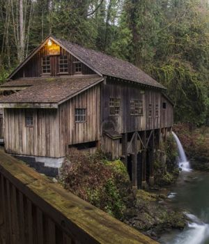 Cedar Creek Grist Mill by
