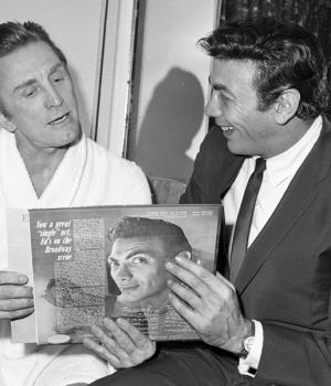 Kirk with Ed Ames by