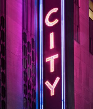 Neon City, New York 2016 by