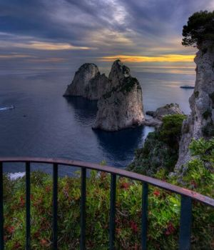 At the Edge of The World Capri 2015 by