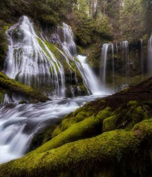 Panther Creek Falls A by