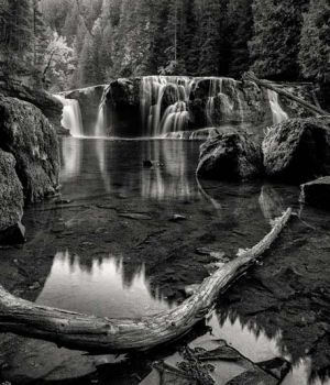 Lower Lewis Falls by